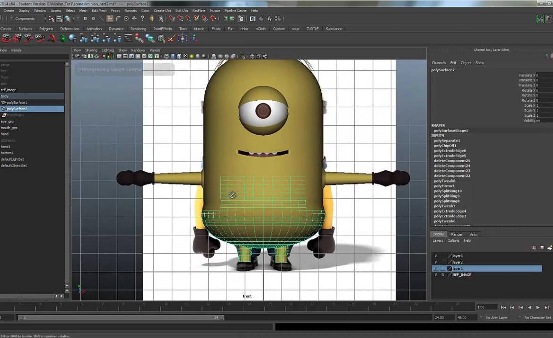 3d Animation Basic Modeling